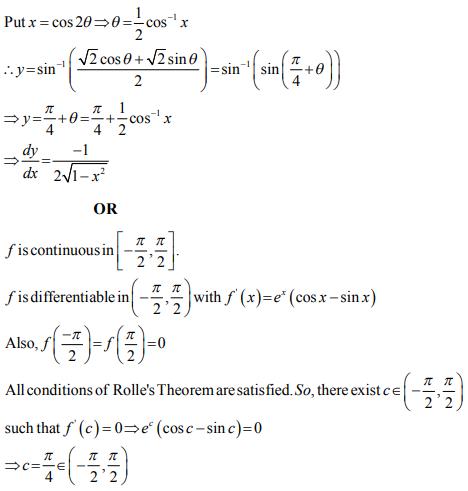 ncert solution class 12th math Answer 28