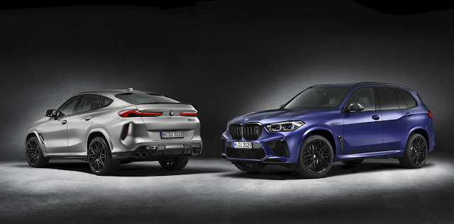 BMW X5 M Competition & X6 M Competition