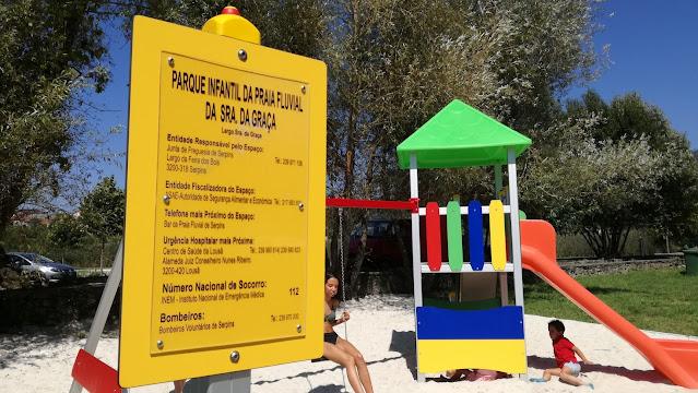 Parque Infantil da Praia Fluvial da senhora da Graça