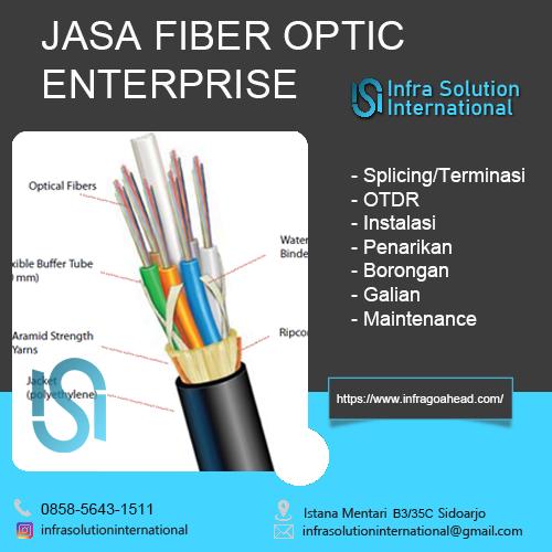 Jasa Fiber Optic Bondowoso Enterprise
