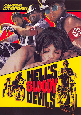 Poster for Al Adamson's HELL'S BLOODY DEVILS!