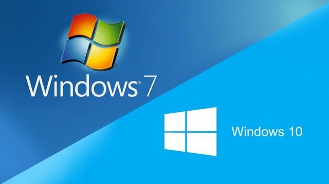 ويندوز 7 هو المنافس الوحيد لويندوز 10