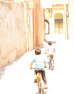 Niños en Kashan