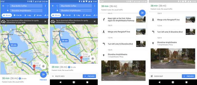 Google Maps v9.52 Apk Update with New Street View Images for Accurate Direction & More Location Info