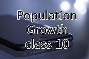 population growth class 10
