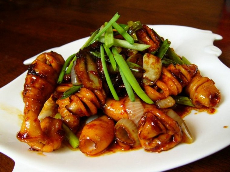 resep cumi saus padang ala seafood
