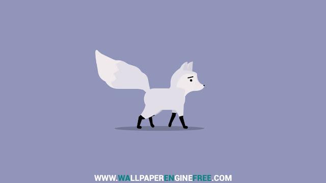 Download Snow Fox Wallpaper Engine