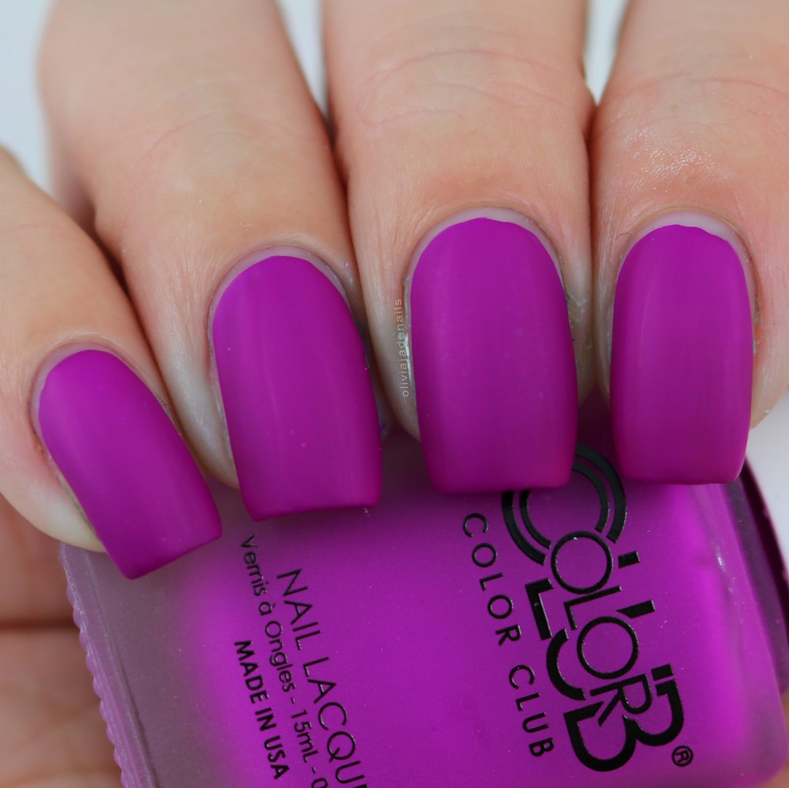 Olivia Jade Nails: Color Club Pop Play Collection - Swatches & Review
