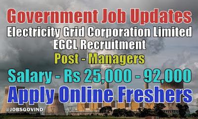 EGCL Recruitment 2020
