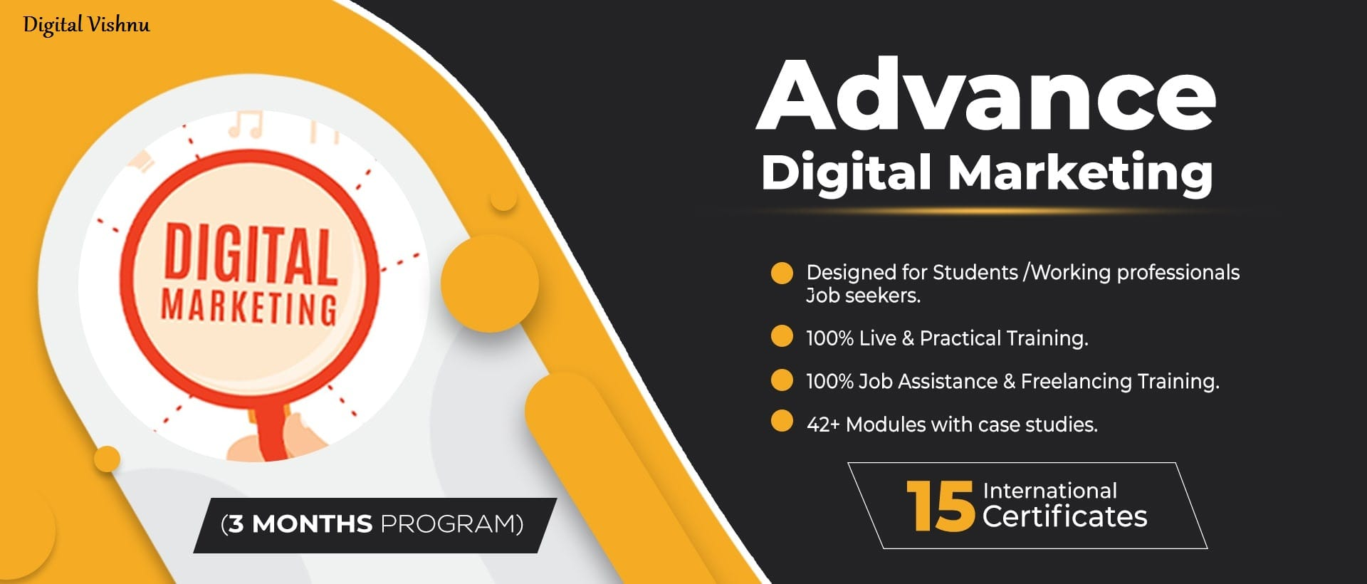Advanced Digital Marketing Course Training in Theni Digital Vishnu