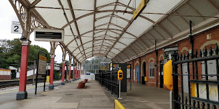 Monkseaton metro station.