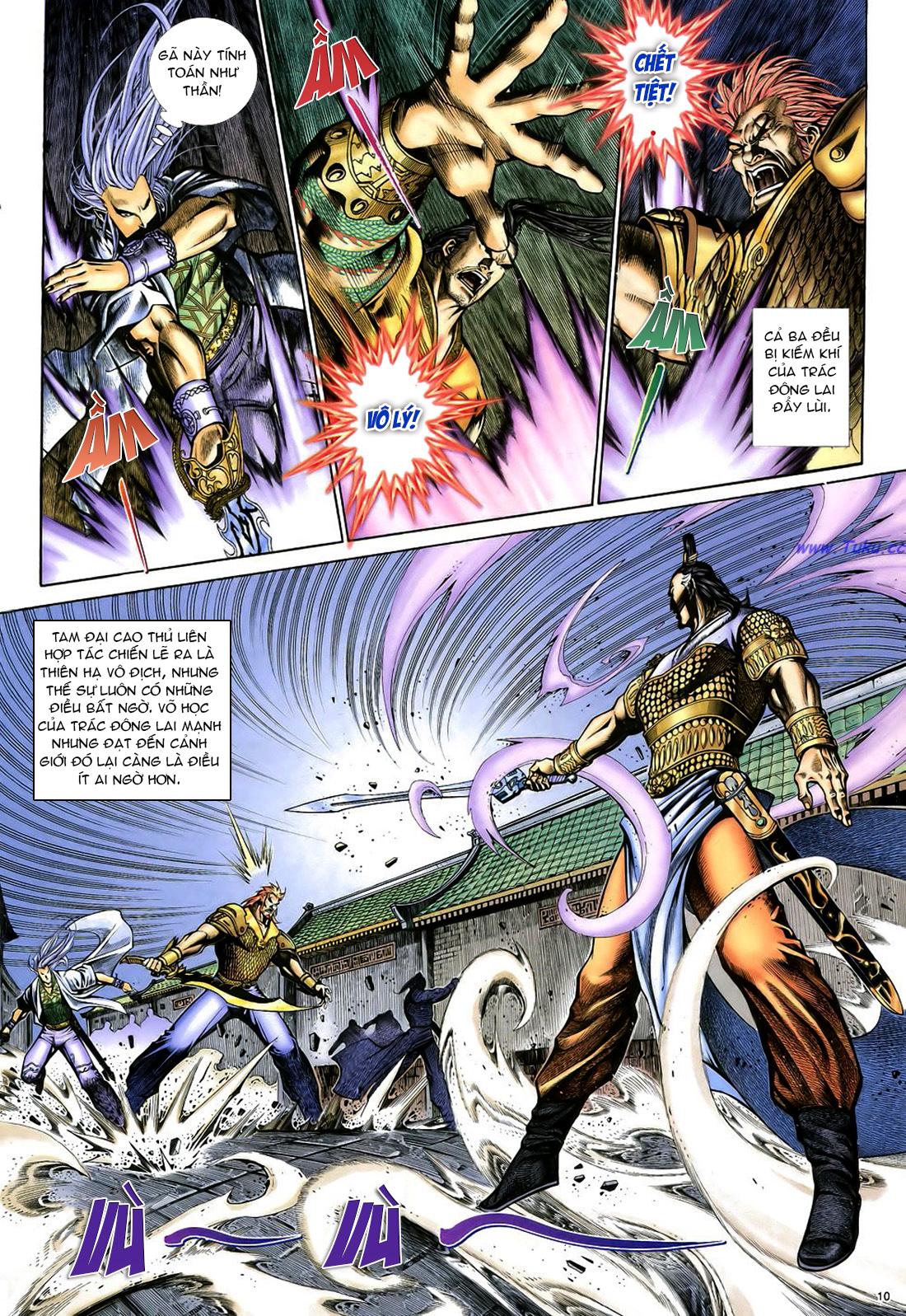 Anh hùng vô lệ Chap 22 trang 11