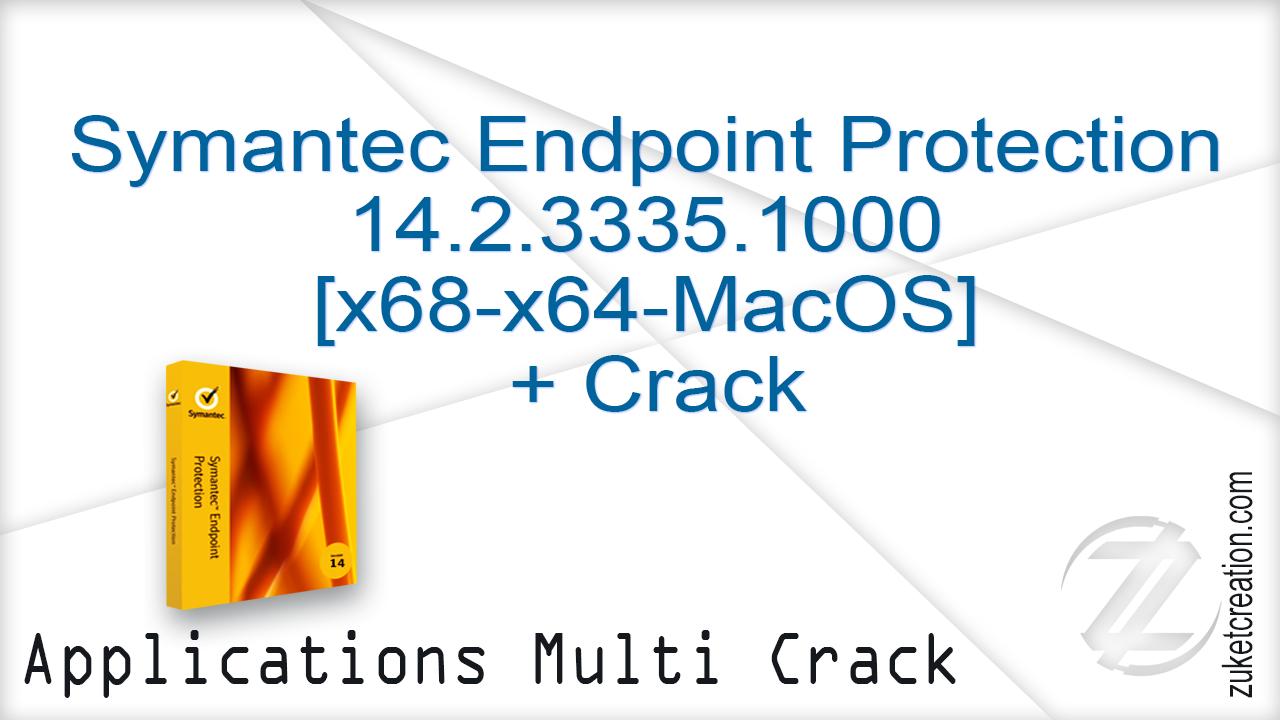 Aplikasi Cracked: Symantec Endpoint Protection 14 2 3335 1000 [x68