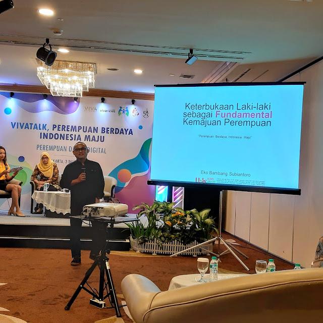 Perempuan Berdaya di Era Digital  Wujudkan Masa Depan Indonesia Maju #VivaTalk