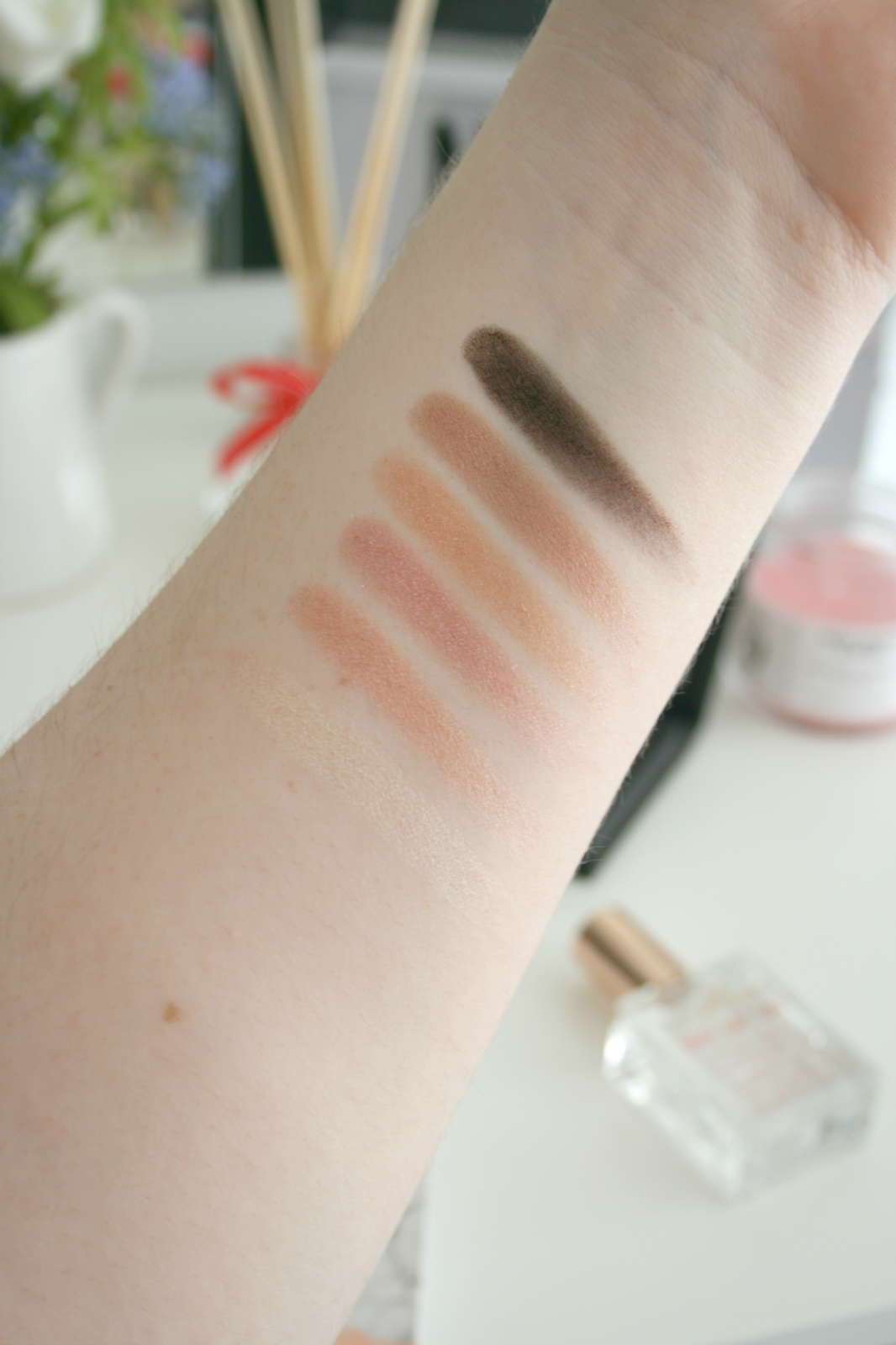 Collection Eyes Uncovered Nude Rose Palette Swatches