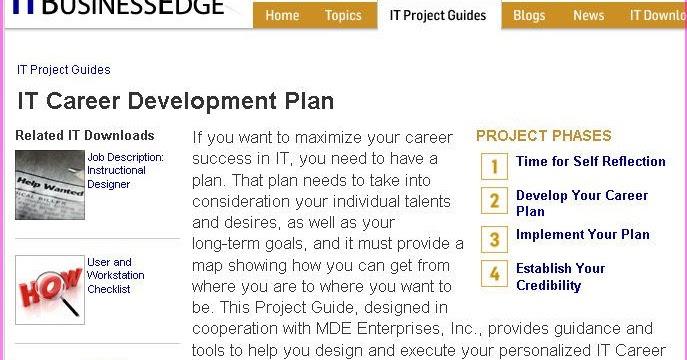 Doc570739 Employee Development Plan Template Employee Career – Employee Development Template