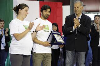 Padre Mia Neri donazione del premio