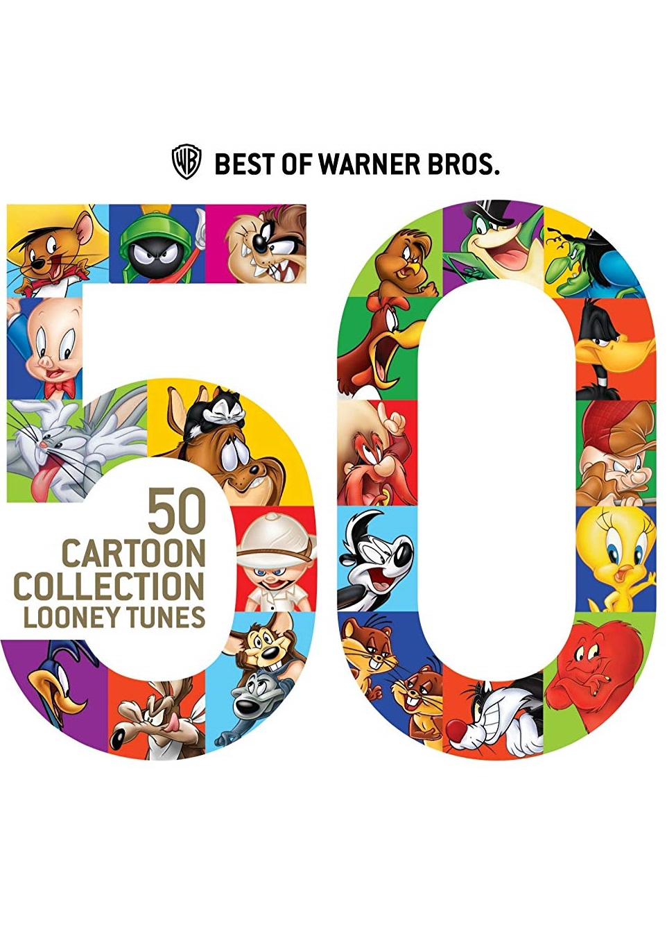 Best of Warner Bros. 50 Cartoon Collection : Looney Tunes [2013] [DVD9] [NTSC] [Latino] [2 DISC]