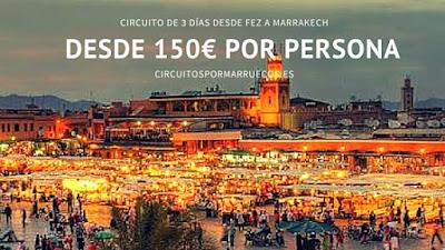 Viajes de Fez  Marrakech por el desierto