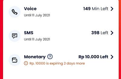 Perbedaan Pulsa Monetary dan Diskon Monetary  Telkomsel