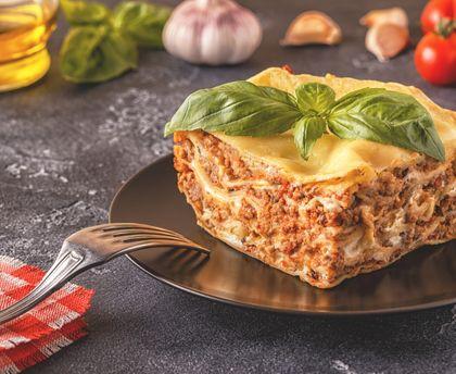 Soft Bolognese Lasagna