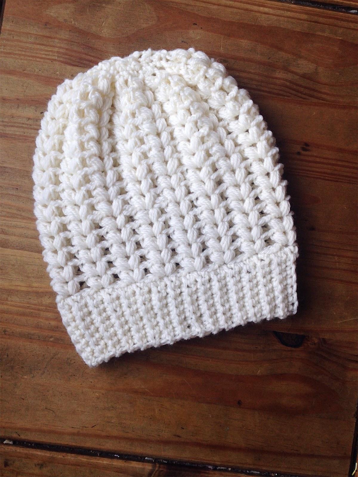 V Puff Stitch Beanie Hat 5b989a74748