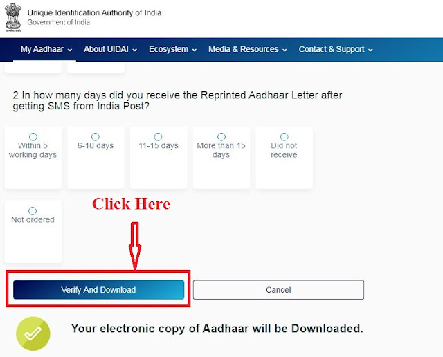 Aadhaar Card Download Kaise Karen