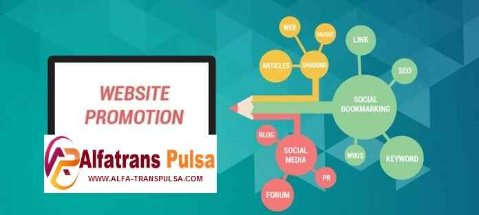 Cara Order Web Blog Promosi Gratis Alfa Trans Pulsa