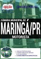 Apostila para MOTORISTA da Câmara Maringá 2017