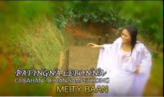Lirik Lagu Toraja Batingna Lebonna (Dodeng) Meity Baan