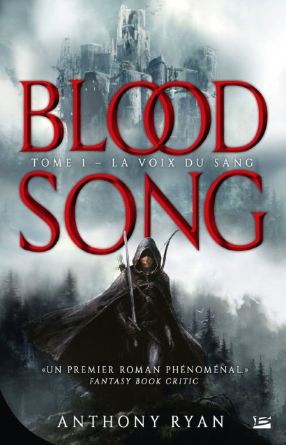 Blood Song Series : blood, series, HOLLYWOOD, ANTHONY, RYAN'S, FAMOUS, RAVEN'S, SHADOW, FANTASY, SERIES, ADAPTATION!