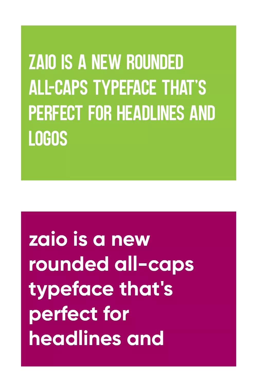 Zaio Font