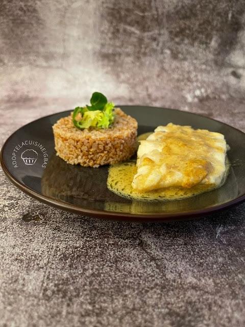 Cabillaud au curry - Recette facile - IG bas