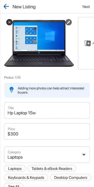 How to post Facebook marketplace