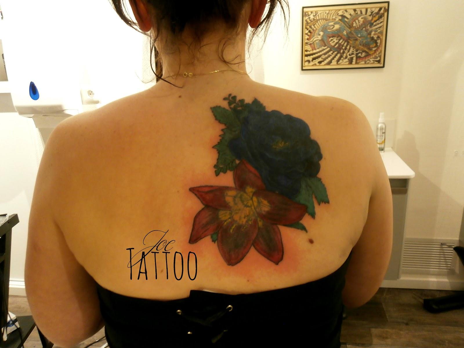 Joe tattoo piercing recouvrement retouches et reprises d for Recouvrement pour galerie