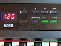 Korg C1 Air cabinet & control panel picture