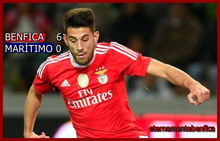 Eternamentebenfica Benfica Marítimo 6 0 Crónica