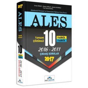 İrem Yayıncılık ALES Tamamı Çözümlü Fasikül Çıkmış Sorular (2017)