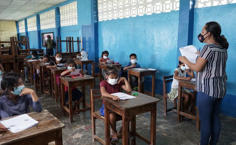 UNICEF saluda regreso a clases de 31 mil escolares y resalta esfuerzo del gobierno para retorno seguro