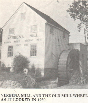 Verbena Mill 1930 from Shenandoah A History of Our Town and Its People https://jollettetc.blogspot.com