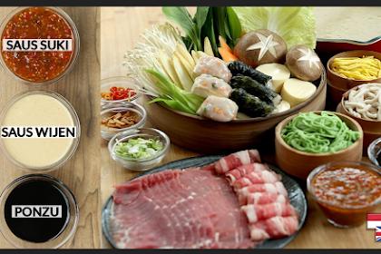 SPECIAL! Three Special Sauces: SHABU-SHABU Recipe