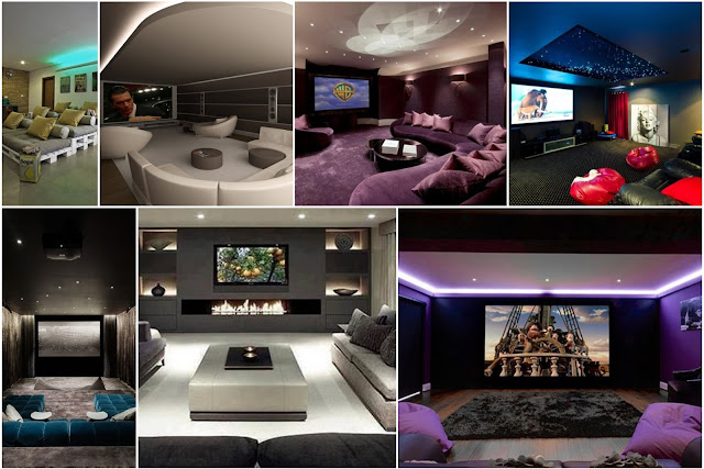 Indoor Cinema Rooms Designs With A Modern Touch