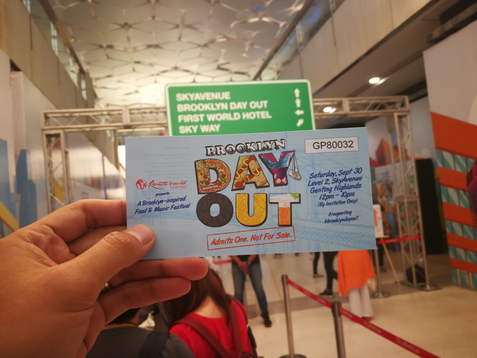 FESTIVAL BROOKLYN DAY OUT DI SKYAVENUE RESORTS WORLD GENTING MERIAH!