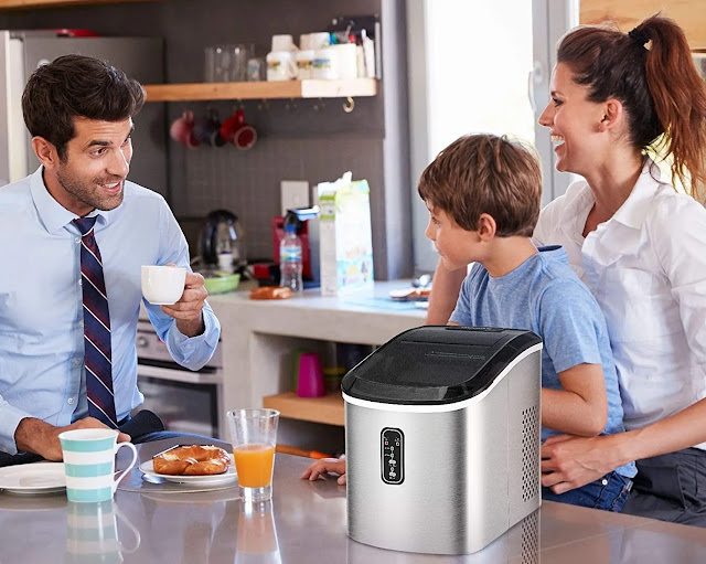 Euhomy Portable Ice Maker Machine Countertop