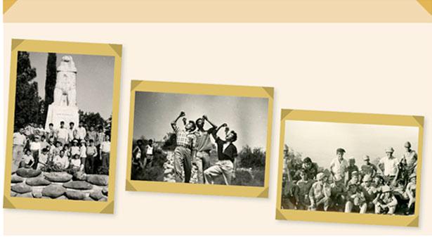 תמונות מאלבומי זכריה יפת, יוסף יוסף ומאלבום משפחת ג'ובני
