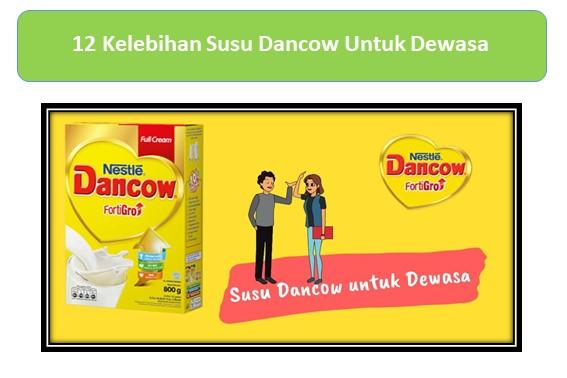 12 Kelebihan Susu Dancow Untuk Dewasa