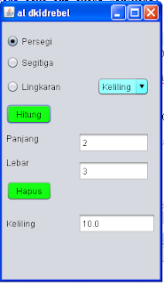 Source Code Program Java Menghitung Persegi Panjang Netbeans