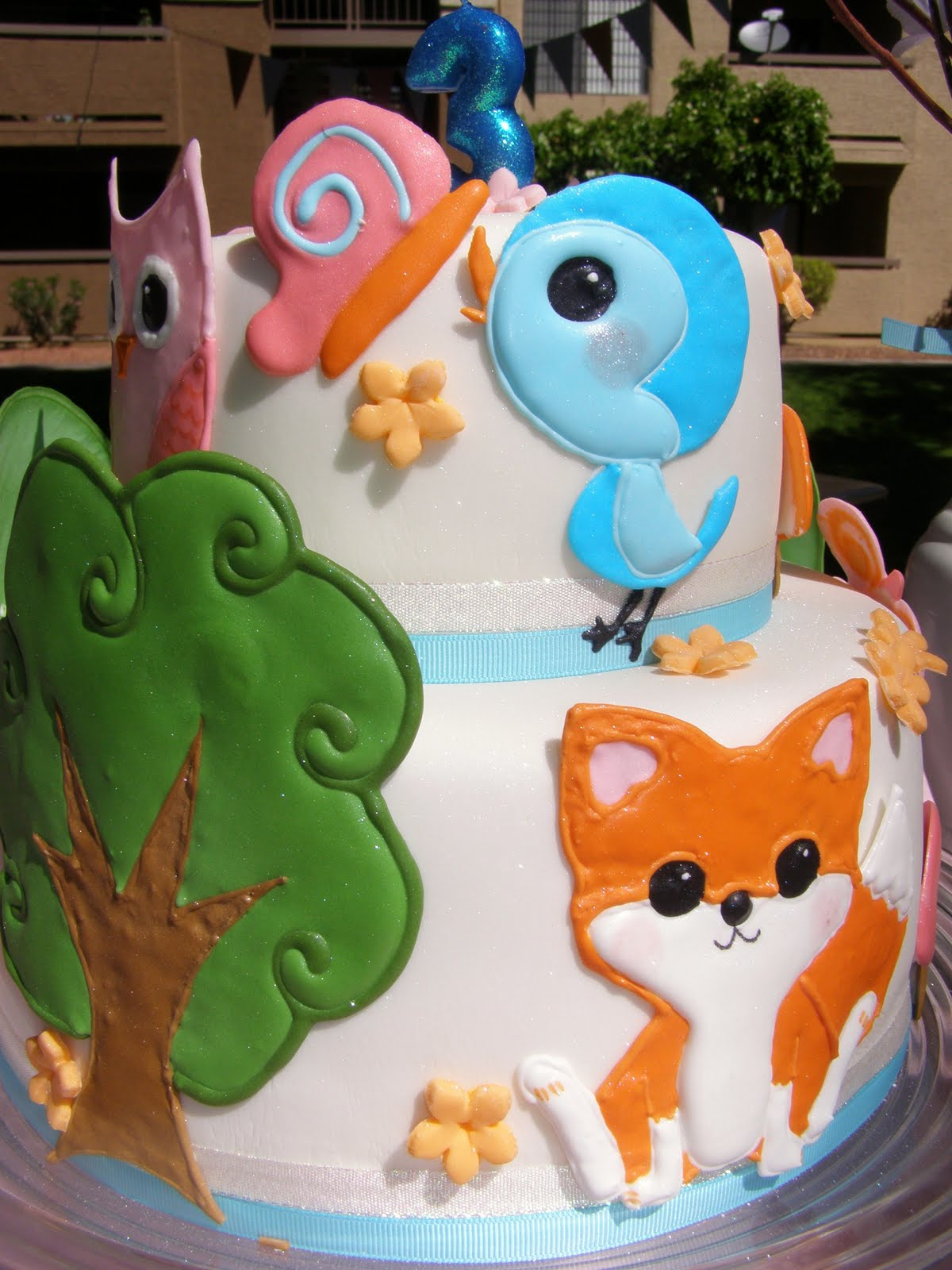 Sweet and Pretty Cakes: Norah- Woodland Animals