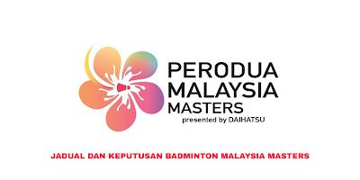 Keputusan Badminton Malaysia Masters 2020 (Jadual)