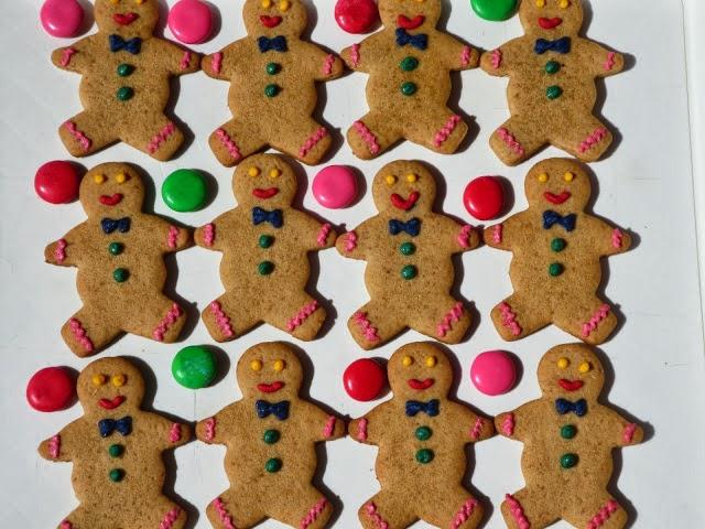 Hombrecitos de jengibre (Gingerbread Men) Ana Sevilla